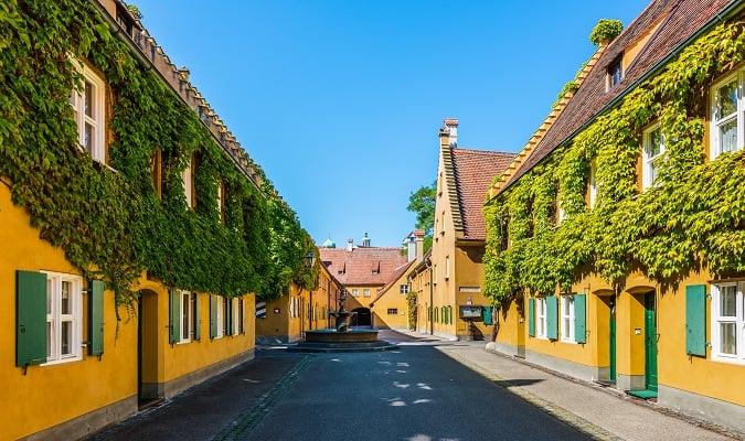 Fuggerei Augsburg Germany