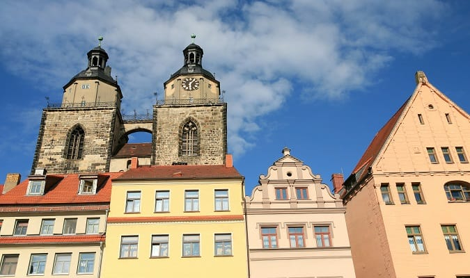 Marien Lutherhaus Wittenberg Germany