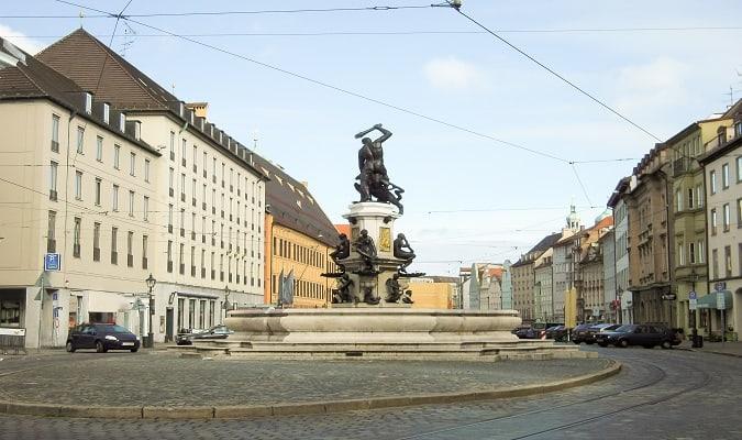 Maximilianstrasse Augsburg