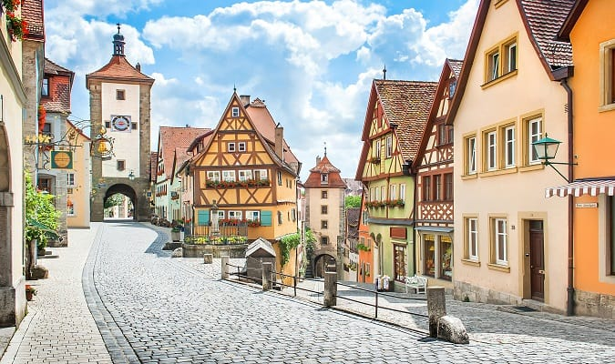 Rothenburg ob der Tauber Germany Bavaria