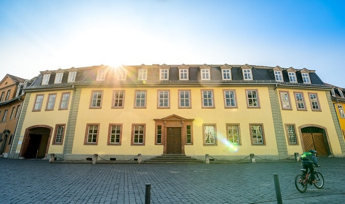 Weimar Goethe House Germany