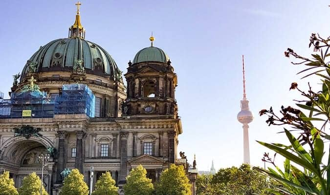 Berlin, Germany's largest city and capital