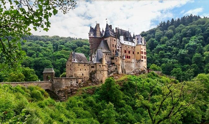 Burg Eltz, one of the most beautiful castles in Germany