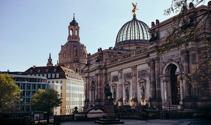 Beautiful Old Town and the Frauenkirche