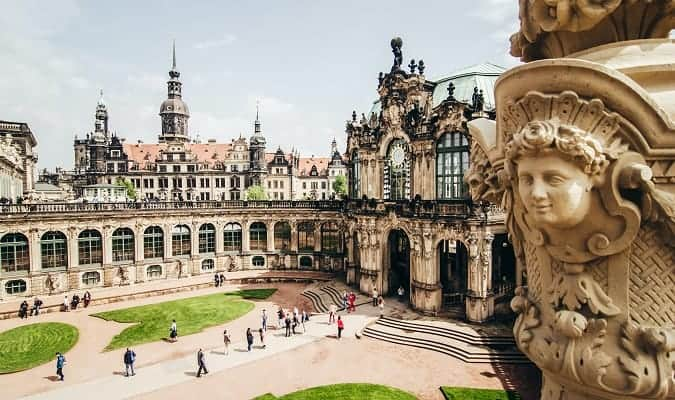 Dresden, a city in Germany