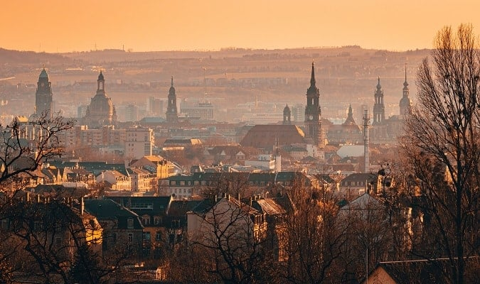 Dresden, a beautiful city in Germany