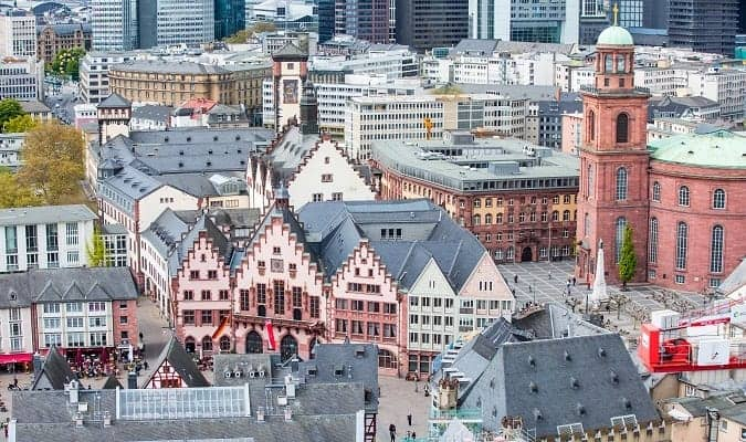 Frankfurt one of the most visited cities in Germany