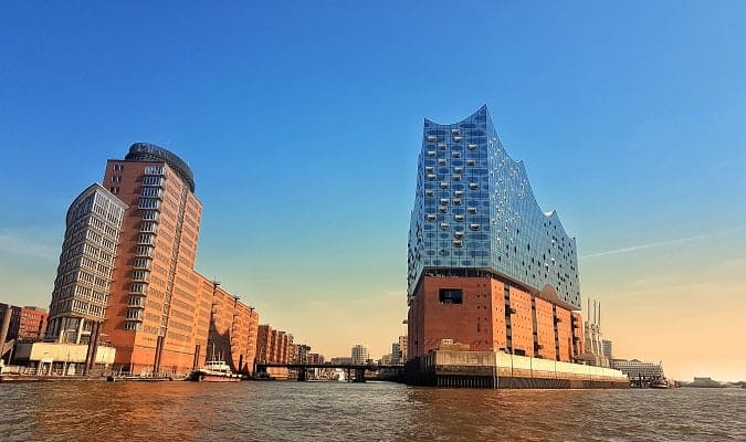 Hamburg the second largest city in Germany