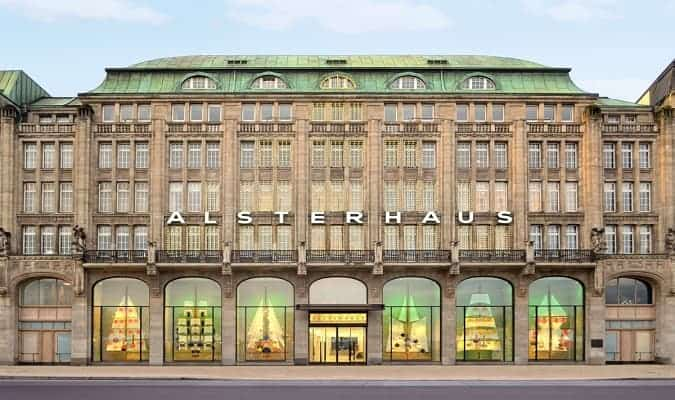 Alsterhaus, department store in Hamburg