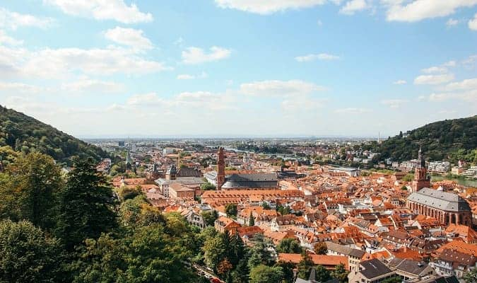 Heidelberg - one of the most beautiful cities in Germany