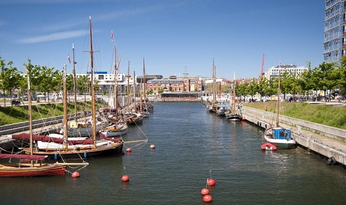 Kiel, a city in the north of Germany