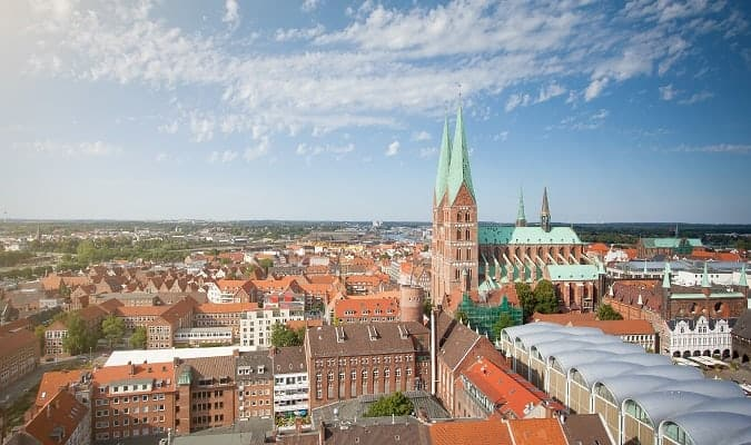 Lübeck, a charming city in northern Germany