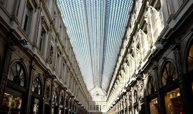Shopping in Brussels Photo