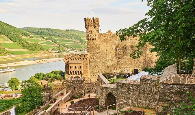 10 Best Palace & Castle Hotels on Rhine River Germany