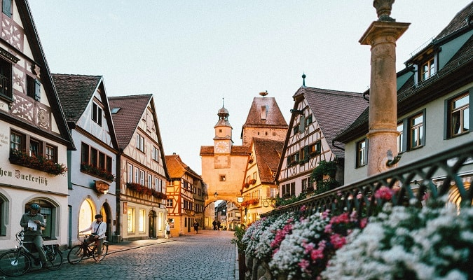 Itineraries for Germany