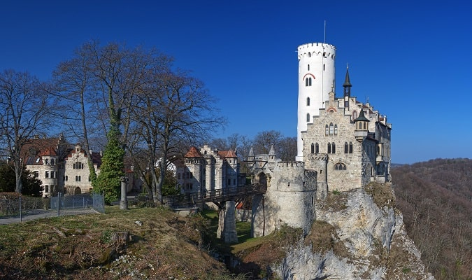 Lichtenstein Castle is one of the most beautiful castles in Germany